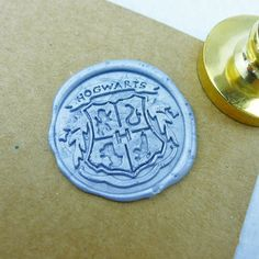 Seal a letter with this wax stamp before sending it off for delivery with your owl.