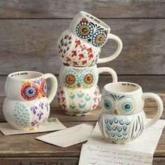 http://www.naturallife.com/folk-owl-mugs