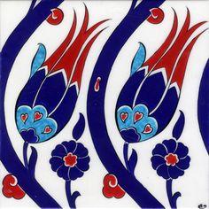 Tulip Tiles T001Tile Sizes: 12x12cm - 20x20cm - 23,5x23,5cm - 29,5x29,5cm - 41,5x41,5cm - Turkiye