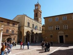 A little rural town in Tuscany should not have such a display of beautiful designed and built public and religious buildings, but Pienza does. Thanks to the presence of Pope Pius II who was born in the little village more than 500 years ago, Pienza boasts an architectural magnificence that rivals many larger Italian towns. The place is a joy to visit.
