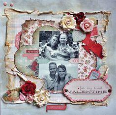 for my sweet valentine** My creative scrapbook** - Scrapbook.com