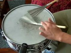Drum Brushes Aren't Just for the Jazz Scene