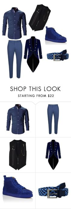 """""""hunter cotilion outfit"""" by eli5habyrdy on Polyvore featuring Topman, Alexander McQueen, Christian Louboutin and adidas Golf"""