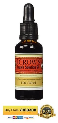Lugol's Solution of Iodine 5 Percent