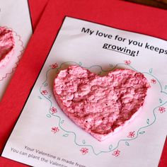 Watch your love grow this Valentines Day with these DIY plantable paper valentines! Made with recycled paper and wildflower seeds! Valentines For Boys, Valentine Crafts, Valentine Day Cards, Valentine Ideas, Wrapping Paper Crafts, Diy Paper, Paper Art, Gift Wrapping, Liquid Food Coloring