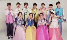 Starship Entertainment artists wish fans Happy Chuseok