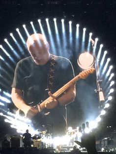 David Gilmour - the sound of his guitar and voice are part of the soundtrack of my youth.