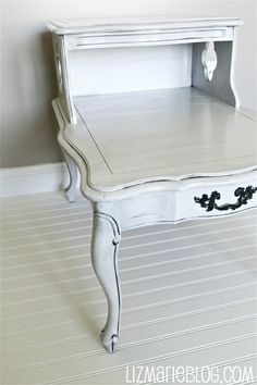 Antique Gray Table