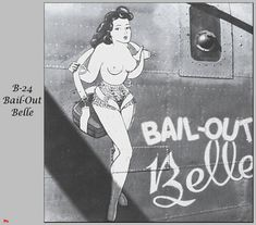 B-24 Bail-out Belle More