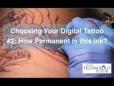 Your Digital Tattoo:  How Permanent is this Ink?                 In today's Tech Tip Chet addresses the permanence of the posts we share on social media, and provides suggestions for making sure what you post is something you'll be happy seeing 10 years from now. This is #2 in a 5-part video series on Choosing Your Own Digital Tattoo.
