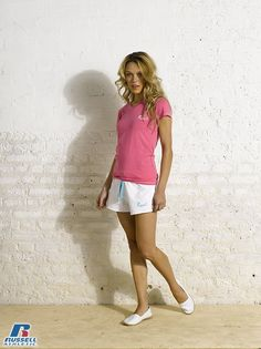 Russell Athletic Summer 2013 Ladies Collection #Russell #Athletic  #Russellbrands #Authentic #American #SportsWear #Apparel #Summer  #Collection #Sports #Wear #Sweatshirt #Womanswear Russell Athletic, Summer Collection, Sportswear, Bra, American, Sweatshirts, Lady, How To Wear, Women
