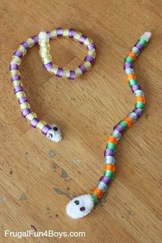 Pattern snakes - plus 5 other simple pattern activities. So simple.