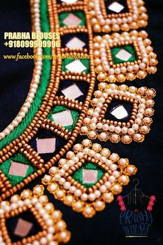Black Blouse Designs, Simple Blouse Designs, Bridal Blouse Designs, Blouse Neck Designs, Border Embroidery Designs, Hand Work Embroidery, Mirror Work Blouse Design, Maggam Work Designs, Baby Frocks Designs