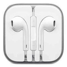 NEW Genuine Apple EarPods Earbuds Earphones iPhone 6 5 4S w/Remote & Mic 3.5mm #Apple