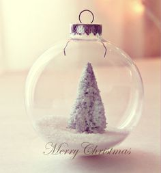 Want to make my own ornaments and this is cute