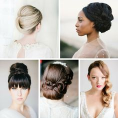 Ridiculously Beautiful & Romantic Bridal Updos