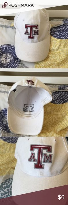 Texas A&M Baseball Cap worn a few times, small stains inside, wearable, cute Accessories Hats
