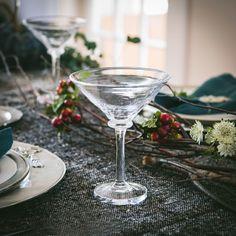 Simon Pearce Woodbury Martini Glass