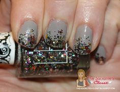 Lex Cosmetics Arcoiris Glitter Nail Polish Swatch and Review