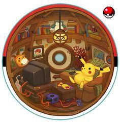 L'image du jour : l'intérieur d'une Poké Ball enfin révélé