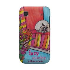 Lazy Sunday Afternoon Samsung Cover (T-Mobile Vibrant Cover) by Janet Antepara