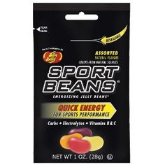 Jelly Belly Sport Beans Assorted Flavors - 24 Packs --- http://www.amazon.com/Jelly-Belly-Sport-Assorted-Flavors/dp/B002UNFJI8/?tag=caribbeantr01-20