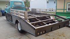 Big Ford Trucks, Cool Trucks, Chevy Trucks, Custom Truck Flatbeds, Custom Cars, Welding Trucks, Muscle Truck, Classic Pickup Trucks, Flat Bed