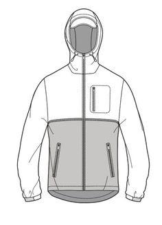menswear flat drawing1