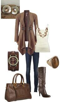 I love brown cloths