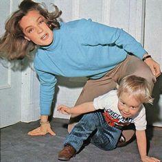Les années bonheur, avec son mari Harry MEYEN avec qui elle aura un fils, DAVID…
