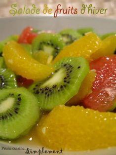 Salade de fruits d'hiver, Recette Ptitchef