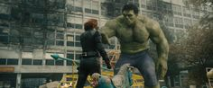 Pin for Later: 15 Couples Costumes Inspired by 2015 TV and Movies Black Widow and the Hulk For her: A skintight black catsuit and a short red wig. For him: A green muscle-bound top and jeans.