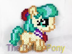 My Little Pony Silly Filly Perler Ponies: Coco par ThePerlerPony