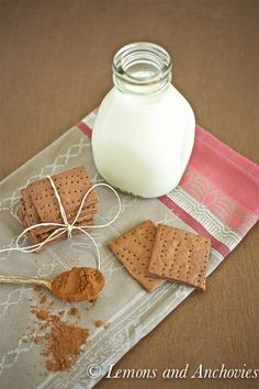 Chocolate Crackers, I'm thinking new substitute for s'mores