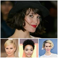 Best Celebrity Short Hairstyles - Latest Hairstyles January 2017 They finally decided to cut the Winter Hairstyles, Latest Hairstyles, Pixie Hairstyles, Celebrity Hairstyles, Wedding Hairstyles, Celebrity Short Hair, Celebs, Celebrities, New Hair
