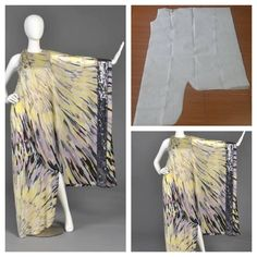 Assymetrical dress pattern Order via line : Modelliste Pattern (withNo photo description available. Kaftan Pattern, Bodice Pattern, Vest Pattern, Womens Skirt Pattern, Dress Sewing Patterns, Clothing Patterns, Sewing Ideas, Fashion Sewing, Diy Fashion