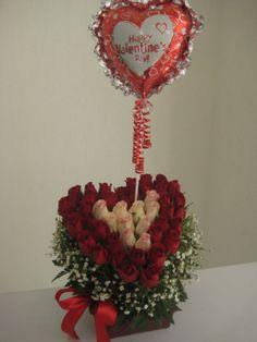 Arreglos florales para san valentin