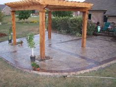 Stamped Concrete Patio | Stamped Concrete Photo Gallery 1
