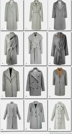 12 most beautiful grey coats