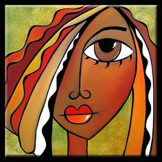 Art: Pronounced by Artist Thomas C. African American Art, African Art, Modern Pop Art, Abstract Faces, Artist Portfolio, Arte Pop, Art Plastique, Face Art, Painting & Drawing