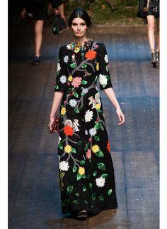 Показ Dolce&Gabbana на Неделе моды в Милане