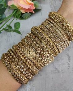 Item Name:cz beads hole Color:gold/silver/rose gold/gunmatel Material:zircon micro pave/copper Usage:bracelet/necklace/earring/other Conversion : 1 inch = or = inch For returns and exchanges, please see the return exchange policy below. Fancy Jewellery, Stylish Jewelry, Fashion Jewelry, Diamond Jewellery, Kundan Bangles, Bridal Bangles, Indian Bridal Jewelry Sets, Wedding Jewelry Sets, Bridal Jewellery