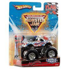 "Hot Wheels Monster Jam Flag Series 1:64 Scale Diecast Truck - Madusa World Finals 48/80 - Mattel - Toys ""R"" Us"