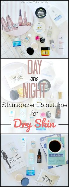 My (Affordable) Day and Night Skincare Routine - best for dry skin