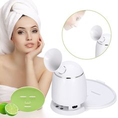 2in1 Ionic Facial Steamer And Fruit Mask Machine Multifunction DIY Natural Fruit Vegetable Mask Maker Hot Mist Moisturizing Personal Skin Care Beauty Tool Machine with Collagen -- Check this awesome product by going to the link at the image. (This is an affiliate link and I receive a commission for the sales) #hashtag