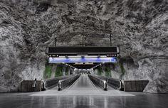 The Stockholm Metro by Alexander Dragunov