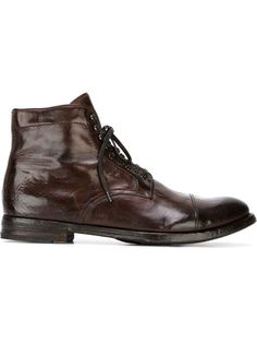 a797206745bf Officine Creative Lace Up Boots - Farfetch