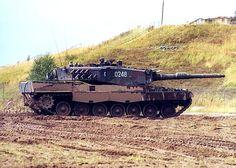 Polish Leopard 2A4 during excercises in Germany ======================= Польский Леопард 2A4 во время excercises в Германии