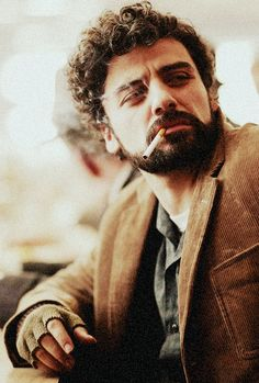 Oscar Isaac  |  Inside Llewyn Davis. Watched this for the first time today & the music was mesmerising. Plus it has a cat in it.