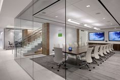 Huntsman Architectural Group completed a new office design for RS Investments located at One Bust Street in San Francisco. Office Space Design, Modern Office Design, Workplace Design, Corporate Interiors, Office Interiors, Corporate Offices, Commercial Design, Commercial Interiors, Office Meeting
